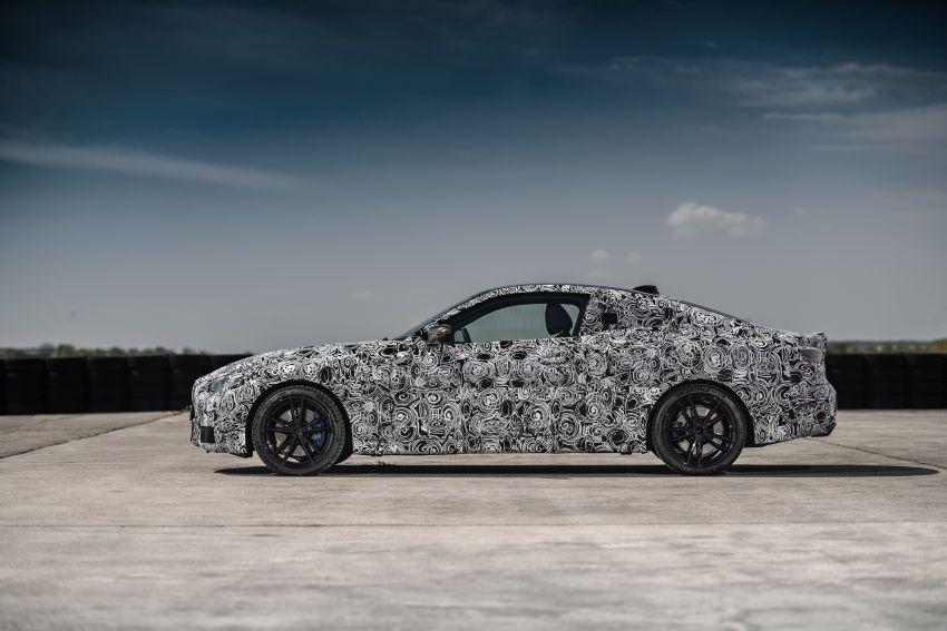 BMW 4 Series Coupe G22 – perincian awal didedahkan Image #1112795