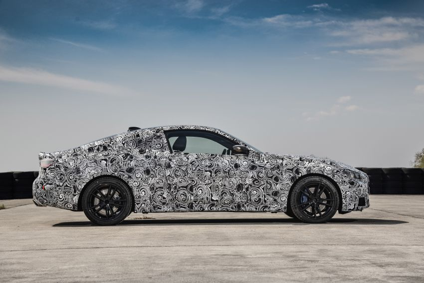 G22 BMW 4 Series Coupe officially teased – M440i xDrive to lead the range with 374 PS, mild hybrid tech Image #1112718