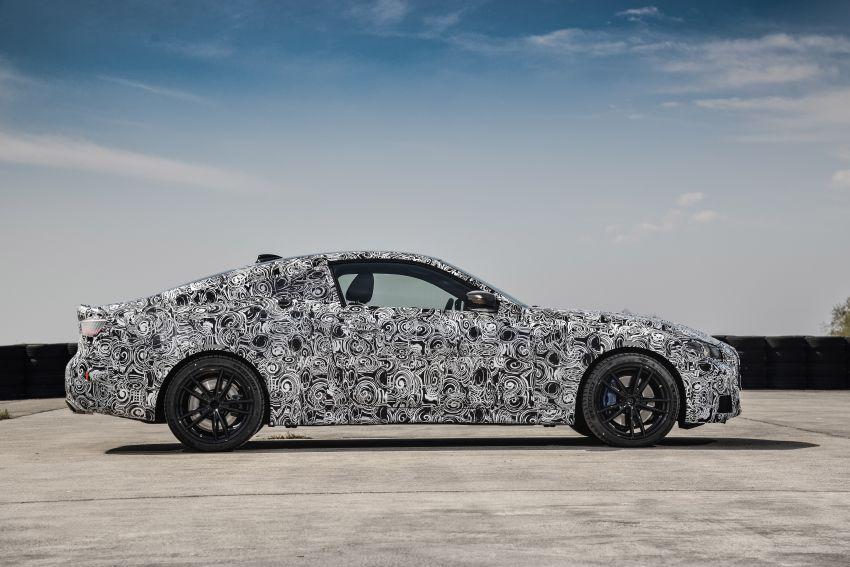 BMW 4 Series Coupe G22 – perincian awal didedahkan Image #1112796