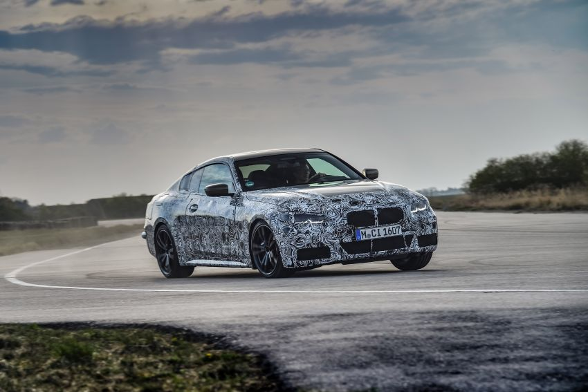 G22 BMW 4 Series Coupe officially teased – M440i xDrive to lead the range with 374 PS, mild hybrid tech Image #1112676