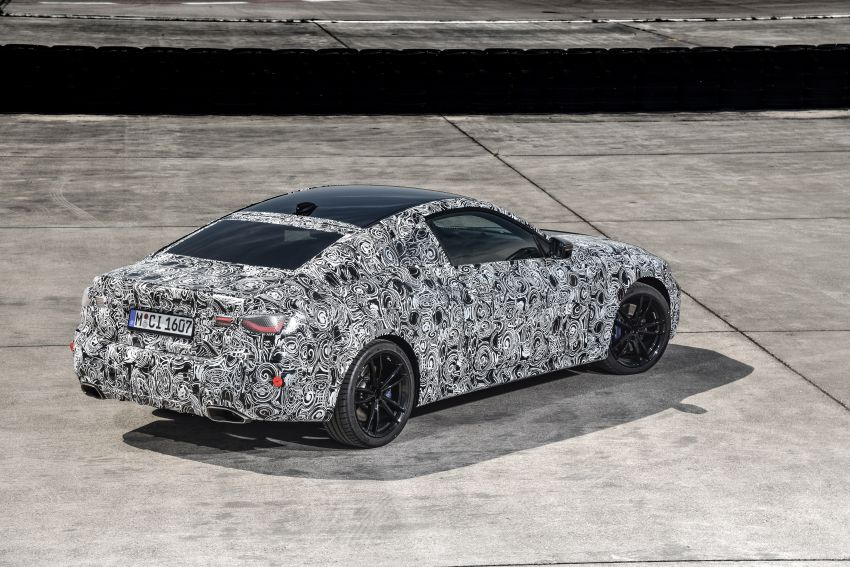 G22 BMW 4 Series Coupe officially teased – M440i xDrive to lead the range with 374 PS, mild hybrid tech Image #1112720
