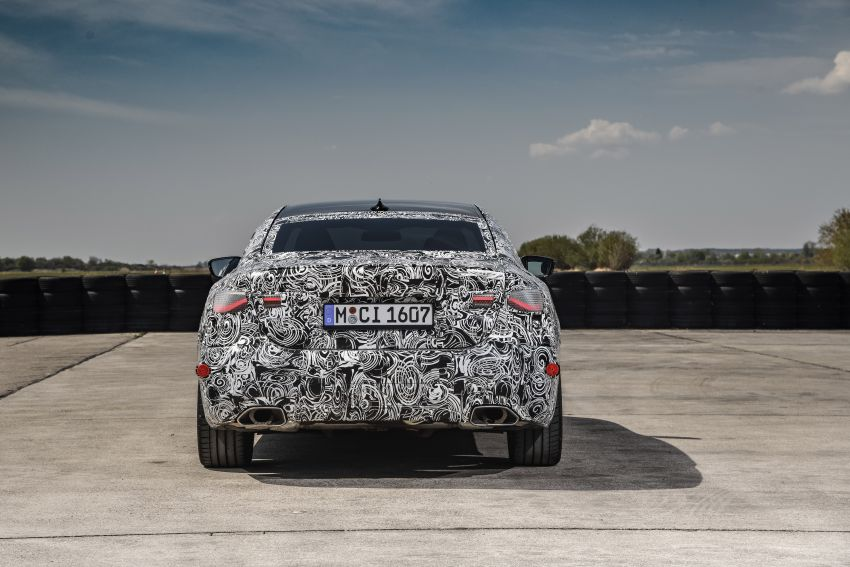 G22 BMW 4 Series Coupe officially teased – M440i xDrive to lead the range with 374 PS, mild hybrid tech Image #1112721