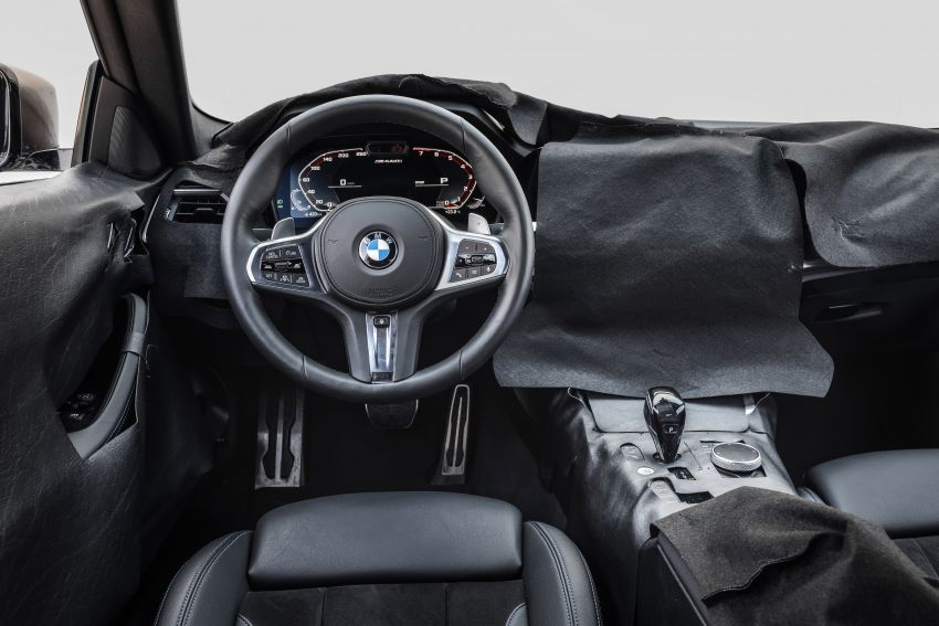 G22 BMW 4 Series Coupe officially teased – M440i xDrive to lead the range with 374 PS, mild hybrid tech Image #1112724