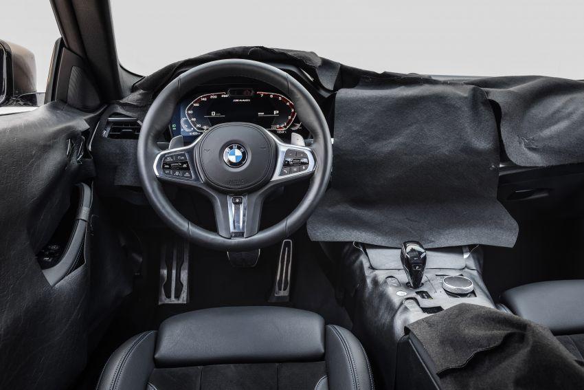 BMW 4 Series Coupe G22 – perincian awal didedahkan Image #1112799
