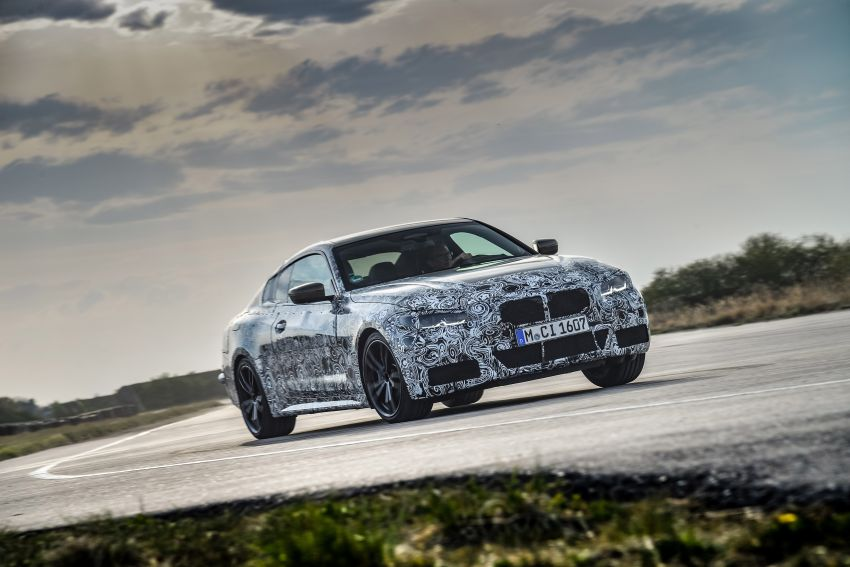 G22 BMW 4 Series Coupe officially teased – M440i xDrive to lead the range with 374 PS, mild hybrid tech Image #1112677