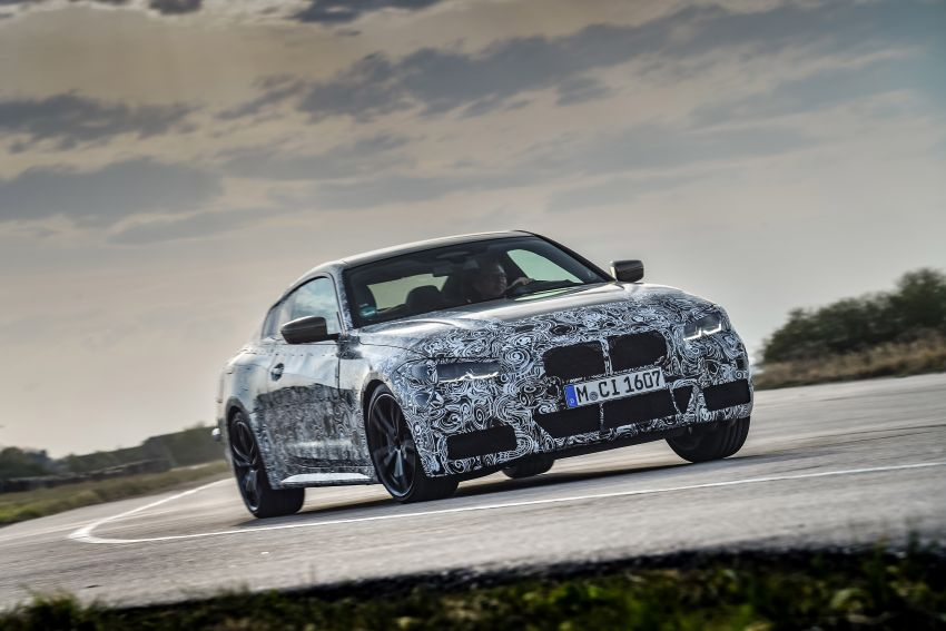 G22 BMW 4 Series Coupe officially teased – M440i xDrive to lead the range with 374 PS, mild hybrid tech Image #1112679