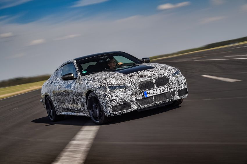 G22 BMW 4 Series Coupe officially teased – M440i xDrive to lead the range with 374 PS, mild hybrid tech Image #1112680