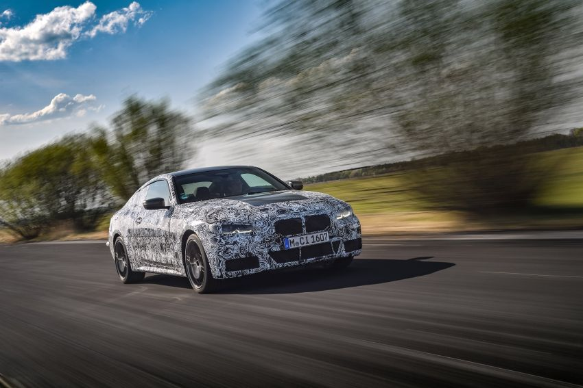 G22 BMW 4 Series Coupe officially teased – M440i xDrive to lead the range with 374 PS, mild hybrid tech Image #1112681