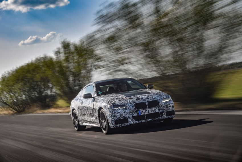 G22 BMW 4 Series Coupe officially teased – M440i xDrive to lead the range with 374 PS, mild hybrid tech Image #1112683