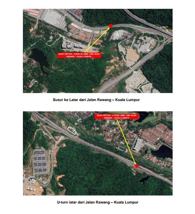MCO: Gombak police announce 5 roadblocks, 9 road closures – Selayang, Rawang and KL-Ipoh 'old road' Image #1102215