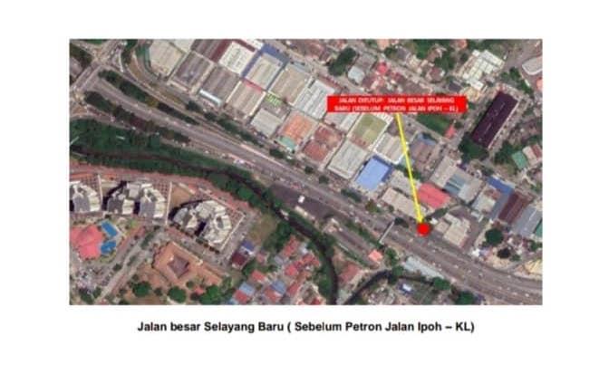 MCO: Gombak police announce 5 roadblocks, 9 road closures – Selayang, Rawang and KL-Ipoh 'old road' Image #1102218