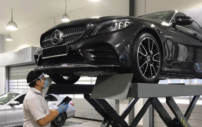 Hap Seng Star to resume operations at selected Mercedes-Benz service centres during MCO period Image #1110319