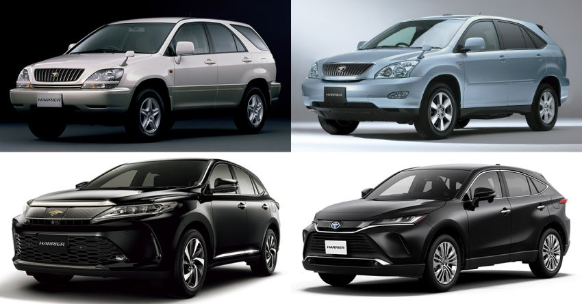GALLERY: Four generations of the Toyota Harrier SUV Image #1106472