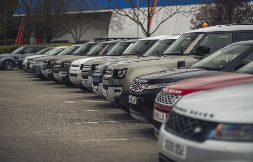 Covid-19: Jaguar Land Rover deploy fleet for medical responders worldwide, research expertise from the UK Image #1103686