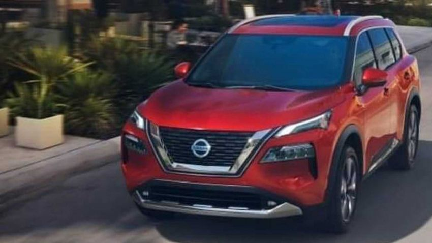 Fourth-gen new Nissan X-Trail official images leaked? Image #1108268