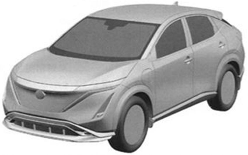Nissan Ariya production electric SUV leaked in patent Image #1112271
