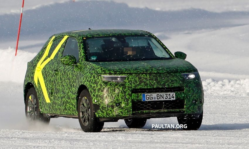 2021 Vauxhall Mokka teased; full EV variant from debut Image #1111724