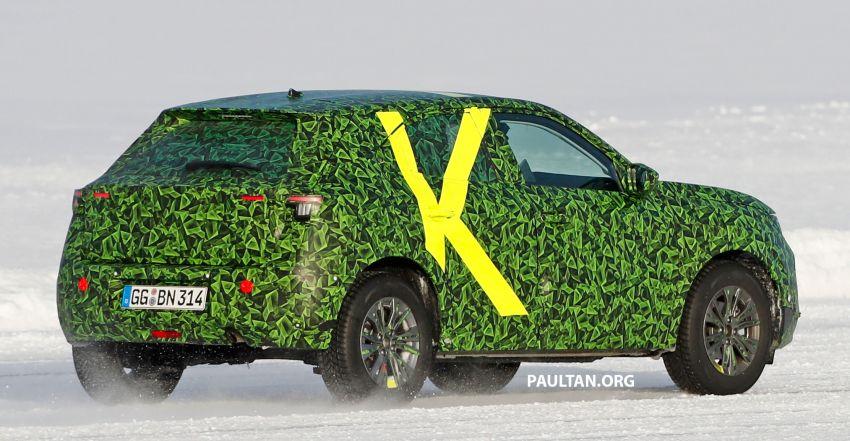 2021 Vauxhall Mokka teased; full EV variant from debut Image #1111710