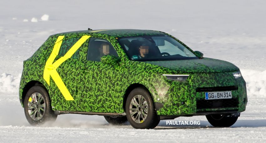 2021 Vauxhall Mokka teased; full EV variant from debut Image #1111722