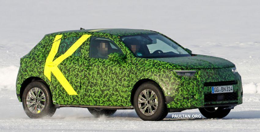 2021 Vauxhall Mokka teased; full EV variant from debut Image #1111721