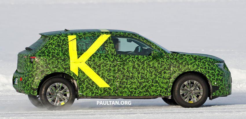 2021 Vauxhall Mokka teased; full EV variant from debut Image #1111716