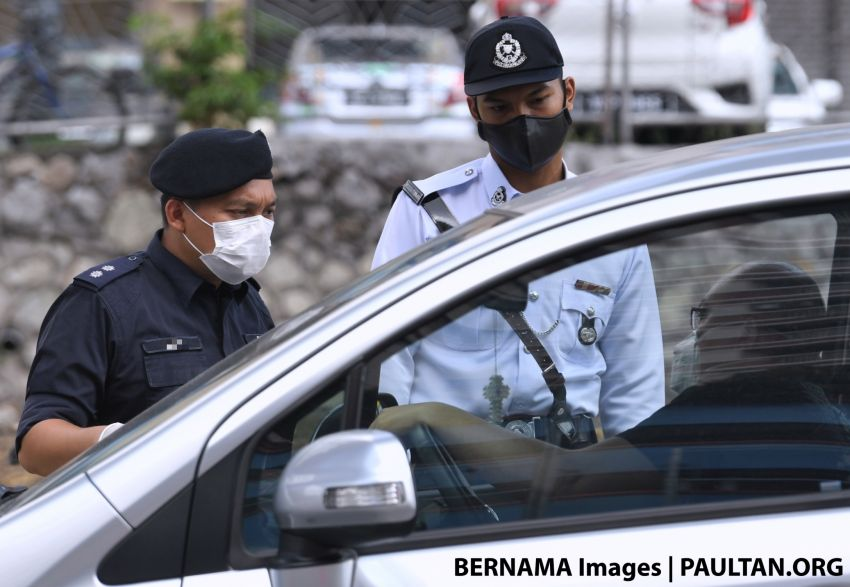 MCO: Public compliance at 97%, fewer arrests – JPJ personnel to assist police in manning roadblocks Image #1105201