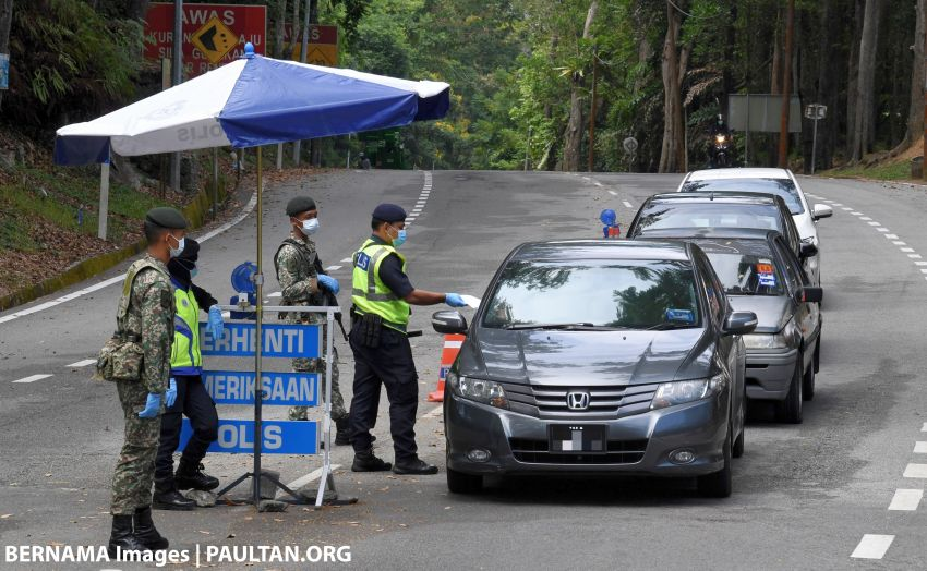 MCO: Kajang police introduce tighter enforcement – eight road closures and three additional roadblocks Image #1104030