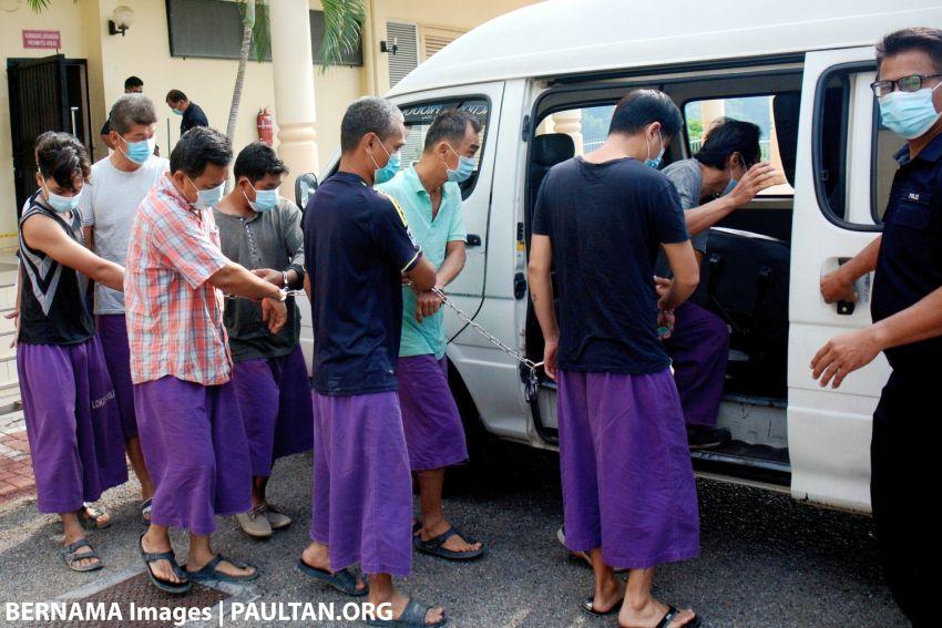 PKP: 185 orang didakwa semalam; kena hukuman penjara atau disaman — tindakan lebih serius fasa tiga Image #1109586