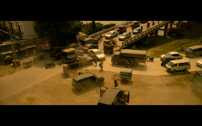 Proton Saga, Savvy and Satria Neo appear in Netflix's hit action film Extraction, starring Chris Hemsworth Image #1111858