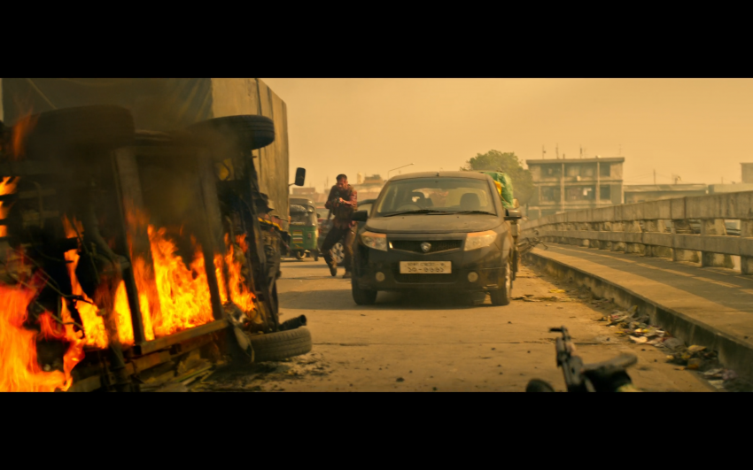 Proton Saga, Savvy and Satria Neo appear in Netflix's hit action film Extraction, starring Chris Hemsworth Image #1111864