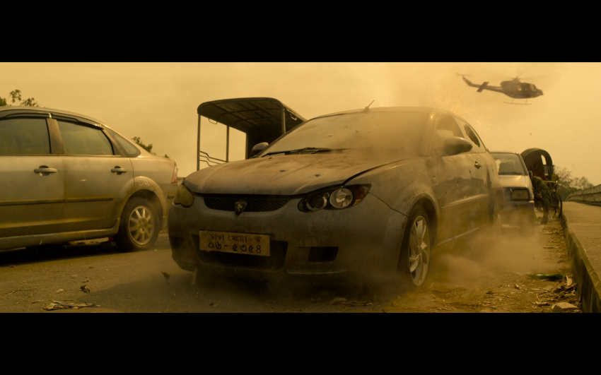 Proton Saga, Savvy and Satria Neo appear in Netflix's hit action film Extraction, starring Chris Hemsworth Image #1111854
