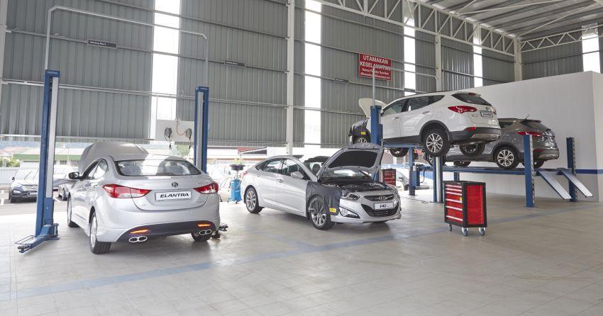 Selected Hyundai service centres resume operations Image #1110391