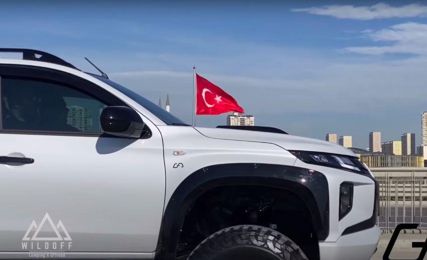 Mitsubishi Triton gets the lift-kit treatment in Turkey Image #1108555