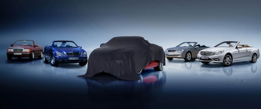 C238/A238 Mercedes-Benz E-Class Coupé, Cabriolet facelift teased – latest MBUX, safety, May 27 debut Image #1121600