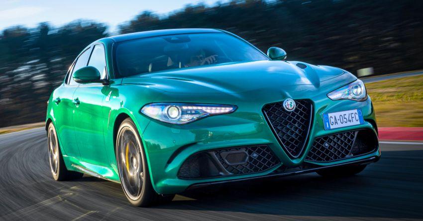 2020 Alfa Romeo Giulia, Stelvio Quadrifoglio debut – subtle styling enhancements and improved safety kit Image #1115614