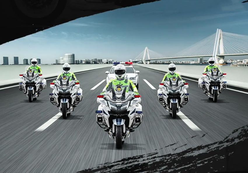2020 CFMoto 1250J Police Model debuts in China Image #1116742
