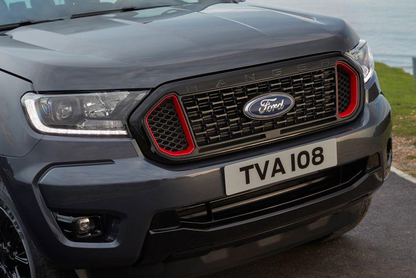 2020 Ford Ranger Thunder – Europe only, 1,400 units Image #1120242