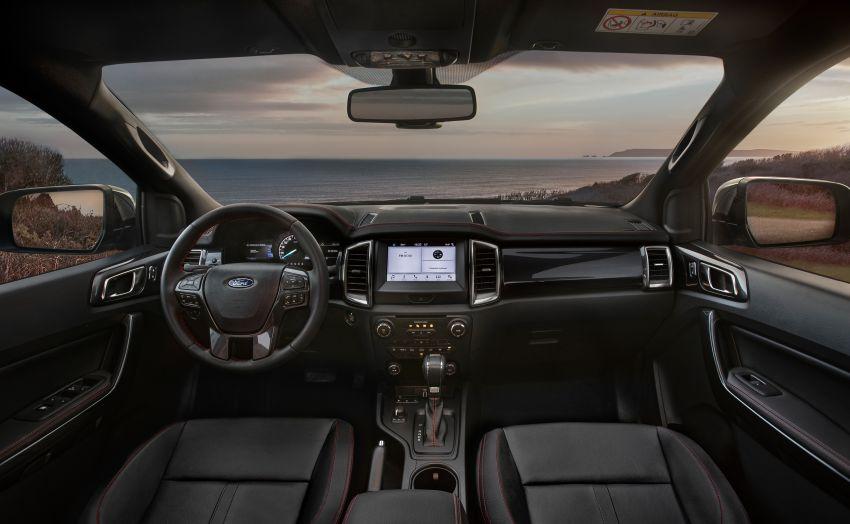2020 Ford Ranger Thunder – Europe only, 1,400 units Image #1120212