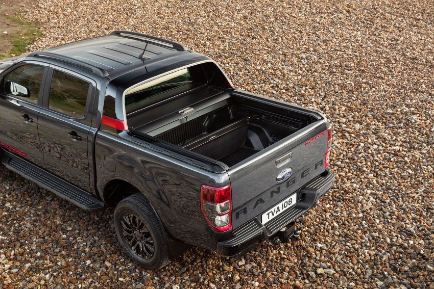 2020 Ford Ranger Thunder – Europe only, 1,400 units Image #1120222