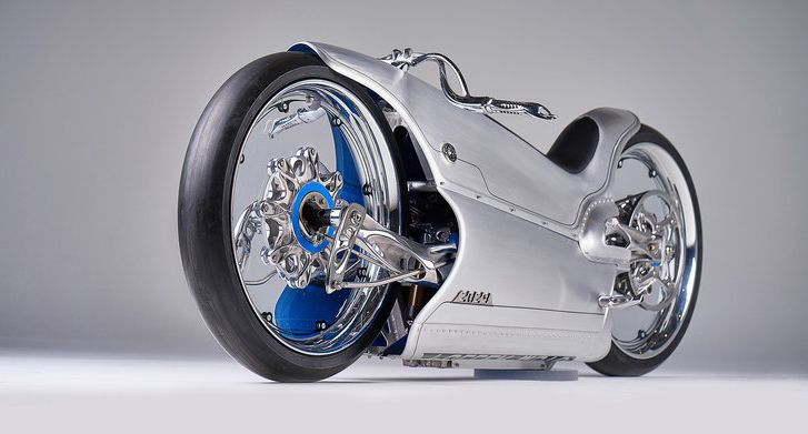 2020 Fuller Moto 2029 is a rolling work of 3D art Image #1123661