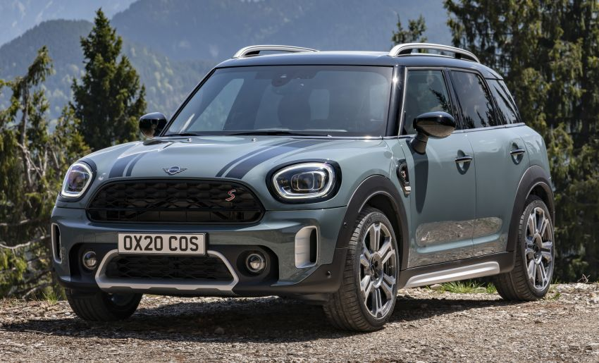 2020 F60 MINI Countryman facelift – cleaner engines, more standard kit, new displays, black exterior trim Image #1122076