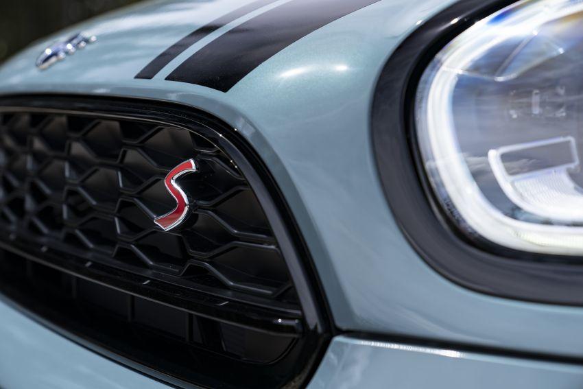 2020 F60 MINI Countryman facelift – cleaner engines, more standard kit, new displays, black exterior trim Image #1122088