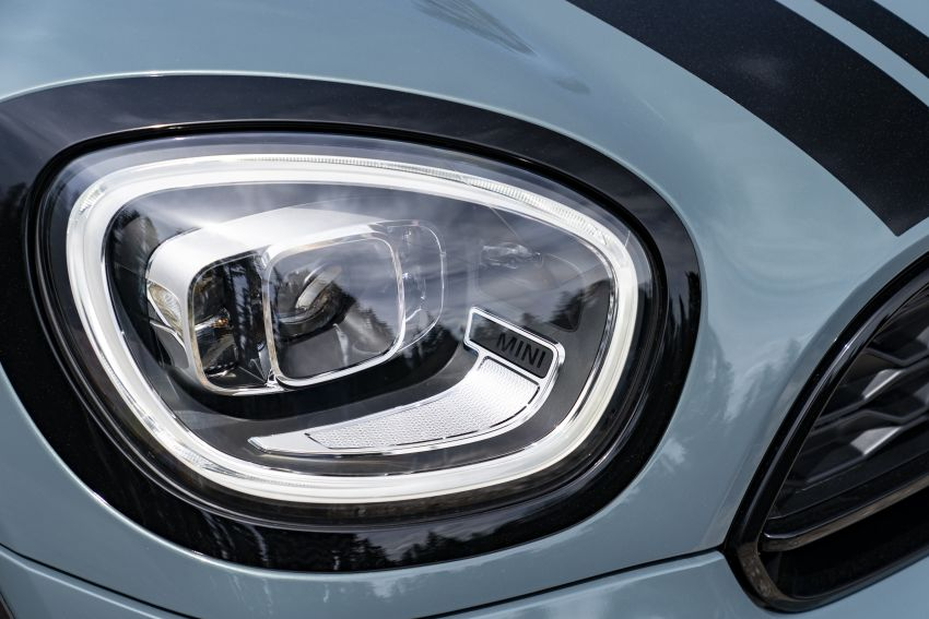2020 F60 MINI Countryman facelift – cleaner engines, more standard kit, new displays, black exterior trim Image #1122089