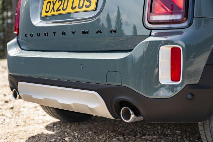 2020 F60 MINI Countryman facelift – cleaner engines, more standard kit, new displays, black exterior trim Image #1122096