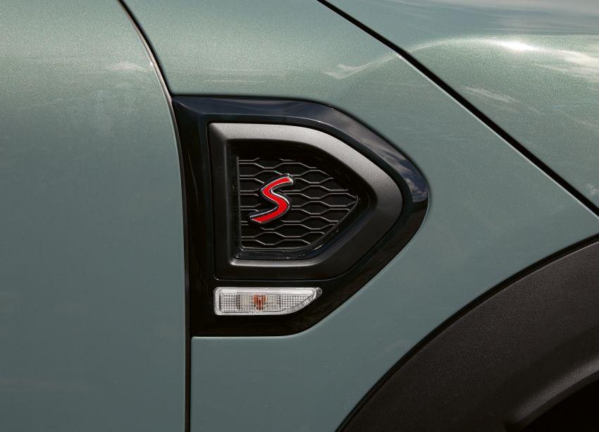 2020 F60 MINI Countryman facelift – cleaner engines, more standard kit, new displays, black exterior trim Image #1122117