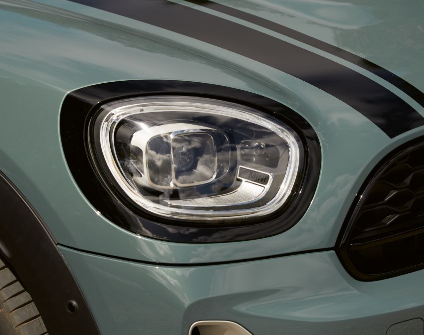 2020 F60 MINI Countryman facelift – cleaner engines, more standard kit, new displays, black exterior trim Image #1122119