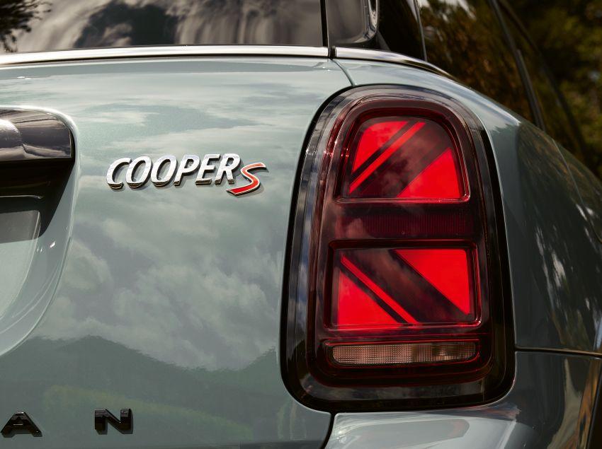 2020 F60 MINI Countryman facelift – cleaner engines, more standard kit, new displays, black exterior trim Image #1122121