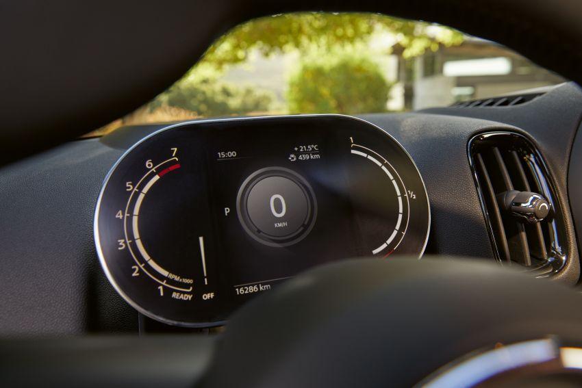 2020 F60 MINI Countryman facelift – cleaner engines, more standard kit, new displays, black exterior trim Image #1122124