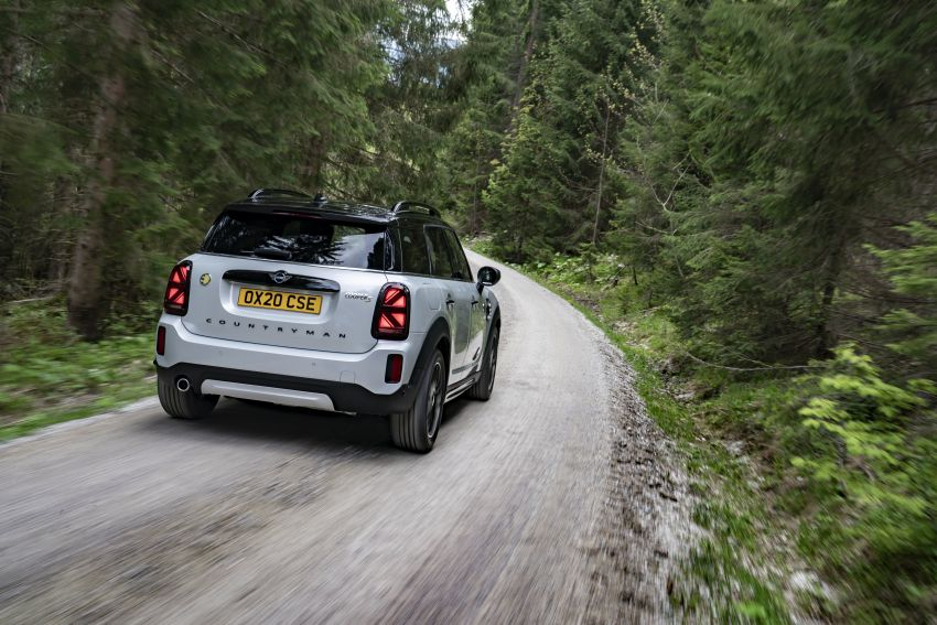 2020 F60 MINI Countryman facelift – cleaner engines, more standard kit, new displays, black exterior trim Image #1122142
