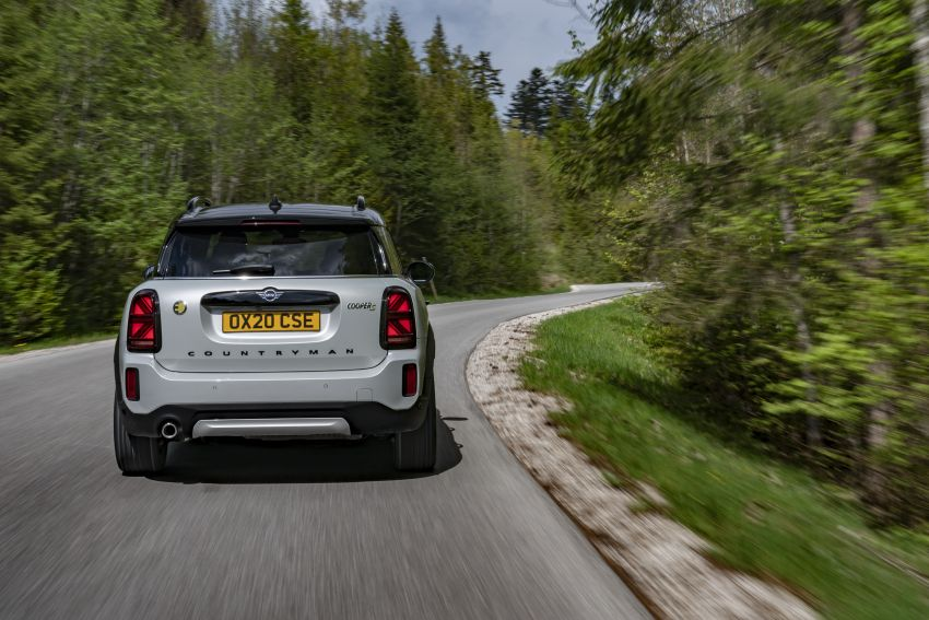 2020 F60 MINI Countryman facelift – cleaner engines, more standard kit, new displays, black exterior trim Image #1122146